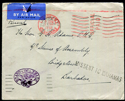 Stamps Postal History Basutoland Cover To Italy 1964 British Colonies & Territories